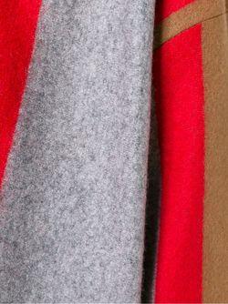 Полосатый Свитер С V-Образным Вырезом Forte Forte                                                                                                              серый цвет