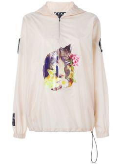 Куртка-Ветровка С Принтом MSGM                                                                                                              Nude & Neutrals цвет
