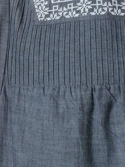 Платье С Вышивкой Vanessa Bruno Athe'                                                                                                              синий цвет