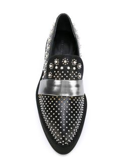 Platform Derby Shoes Alexander McQueen                                                                                                              чёрный цвет
