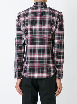 Рубашка В Клетку Maison Margiela                                                                                                              чёрный цвет
