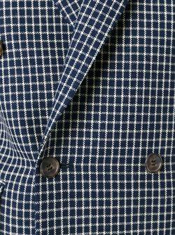 Двубортный Пиджак Marni                                                                                                              синий цвет