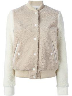 Куртка-Бомбер Из Овчины AALTO                                                                                                              Nude & Neutrals цвет