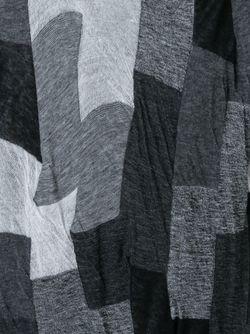 Юбка С Панельным Дизайном И Асимметричным Подолом Yohji Yamamoto                                                                                                              серый цвет