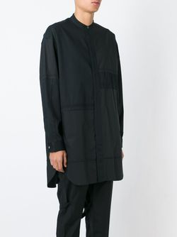 Удлиненная Рубашка С Воротником-Стойкой 3.1 Phillip Lim                                                                                                              черный цвет