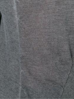 Свитер С Потертой Отделкой Masnada                                                                                                              серый цвет