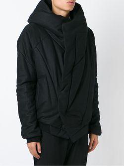 Куртка С Капюшоном И Панельным Дизайном JULIUS                                                                                                              чёрный цвет