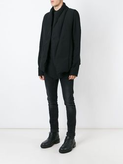 Пуховый Жилет С Панельным Дизайном JULIUS                                                                                                              чёрный цвет