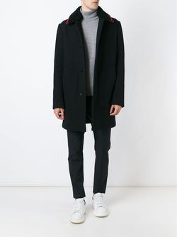 Однобортное Пальто Alexander Wang                                                                                                              черный цвет