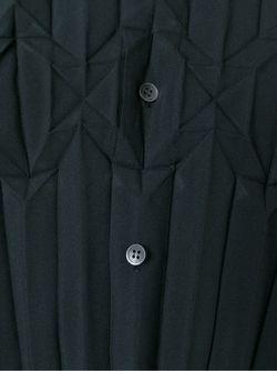 Плиссированная Рубашка Issey Miyake                                                                                                              чёрный цвет