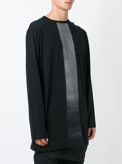 Толстовка С Контрастной Полоской Thamanyah                                                                                                              черный цвет