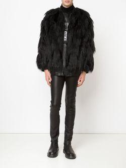 Куртка Из Искусственного Меха Ktz                                                                                                              чёрный цвет