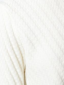 Свитер Диагональной Вязки AALTO                                                                                                              белый цвет
