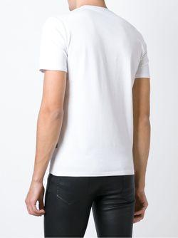 Футболка С Принтом-Логотипом Just Cavalli                                                                                                              белый цвет