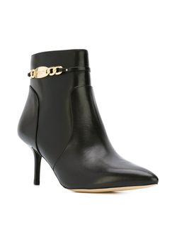 Chain Detail Booties Michael Michael Kors                                                                                                              чёрный цвет