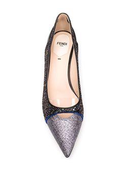 Балетки Amanda Fendi                                                                                                              чёрный цвет