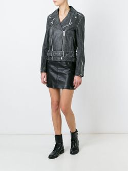 Suki Biker Jacket Filles A Papa                                                                                                              чёрный цвет