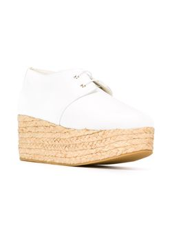 Туфли На Танкетке Patos Robert Clergerie                                                                                                              белый цвет