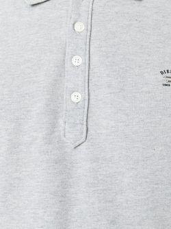 Классическое Поло Diesel                                                                                                              серый цвет