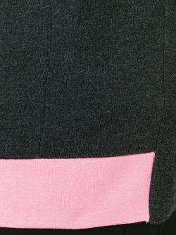 Майка С Контрастной Панелью Mary Katrantzou                                                                                                              серый цвет