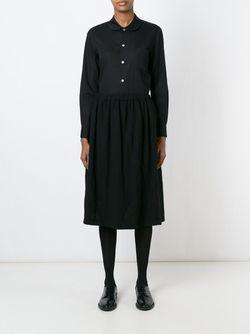 Рубашка С Воротником Питер Пен Comme Des Garcons                                                                                                              чёрный цвет
