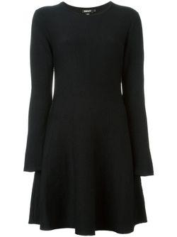 Расклешенное Платье Tussah DKNY                                                                                                              чёрный цвет