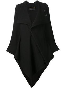 Асимметричная Накидка Caneva Roland Mouret                                                                                                              чёрный цвет