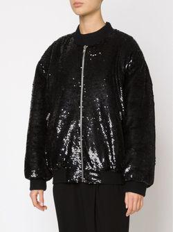 Байкерская Куртка С Пайетками Ashish                                                                                                              чёрный цвет