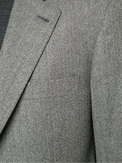 Костюм-Двойка В Полоску Brunello Cucinelli                                                                                                              серый цвет