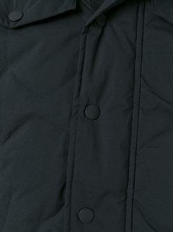 Стеганый Пуховик С Капюшоном Maharishi                                                                                                              чёрный цвет