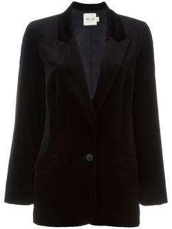 Блейзер Harrison Mih Jeans                                                                                                              черный цвет