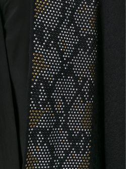 Пончо С Отделкой Из Заклепок Roberto Cavalli                                                                                                              чёрный цвет