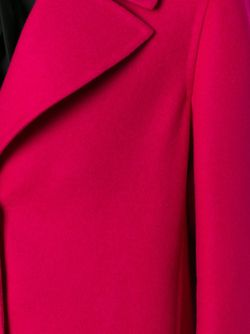 Однобортное Пальто Valentino                                                                                                              розовый цвет