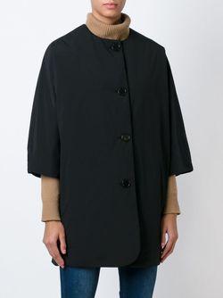 Укороченное Стеганое Пальто Aspesi                                                                                                              черный цвет