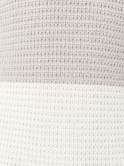 Двухцветный Свитер Maison Margiela                                                                                                              белый цвет