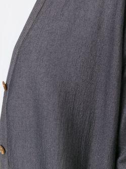 Кардиган С V-Образным Вырезом Roberto Collina                                                                                                              серый цвет