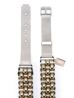 Embellished Belt EMANNUELLE JUNQUEIRA                                                                                                              серебристый цвет