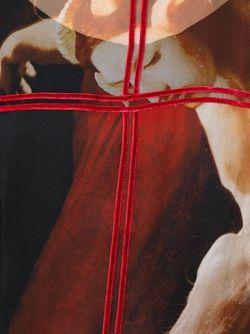 Блузка С Принтом Фавна Givenchy                                                                                                              красный цвет