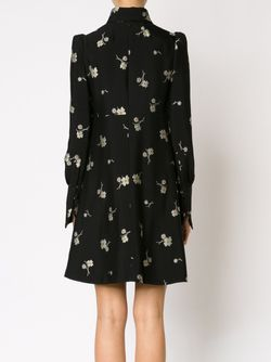 Платье С Цветочной Вышивкой Chloe                                                                                                              черный цвет