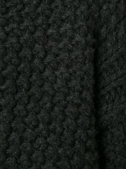 Свитер Вафельной Вязки ROSETTA GETTY                                                                                                              серый цвет