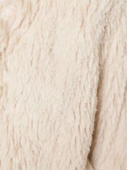 Furry Boxy Jacket Mother                                                                                                              белый цвет