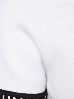 Укороченная Футболка Bad Sport Unif                                                                                                              белый цвет