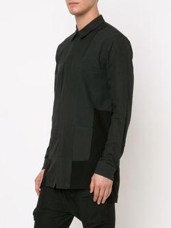 Рубашка С Панельным Дизайном ALEXANDRE PLOKHOV                                                                                                              черный цвет