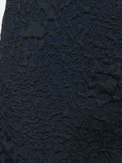 Жаккардовые Брюки Amen                                                                                                              синий цвет