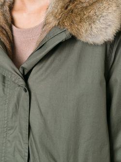 Укороченная Парка Woolrich                                                                                                              зелёный цвет