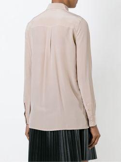 Рубашка С Потайной Застежкой Roberto Collina                                                                                                              розовый цвет