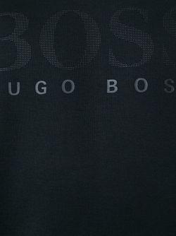 Толстовка С Принтом Логотипа Boss Hugo Boss                                                                                                              черный цвет