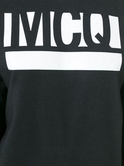 Толстовка С Принтом Логотипа Mcq Alexander Mcqueen                                                                                                              чёрный цвет