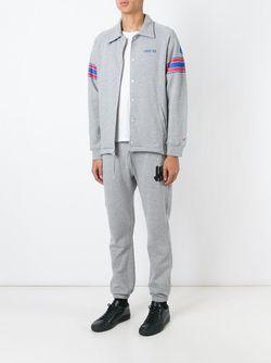 Спортивная Куртка С Классическим Воротником Undefeated                                                                                                              серый цвет