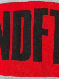 Толстовка С Принтом Логотипа Undefeated                                                                                                              серый цвет